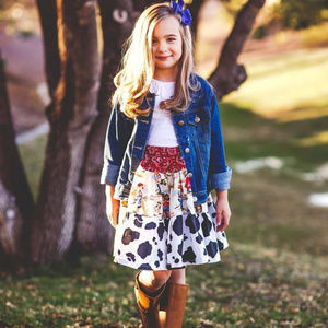 Bella Bee Clothing Children's Lil Cowgirl Skirt